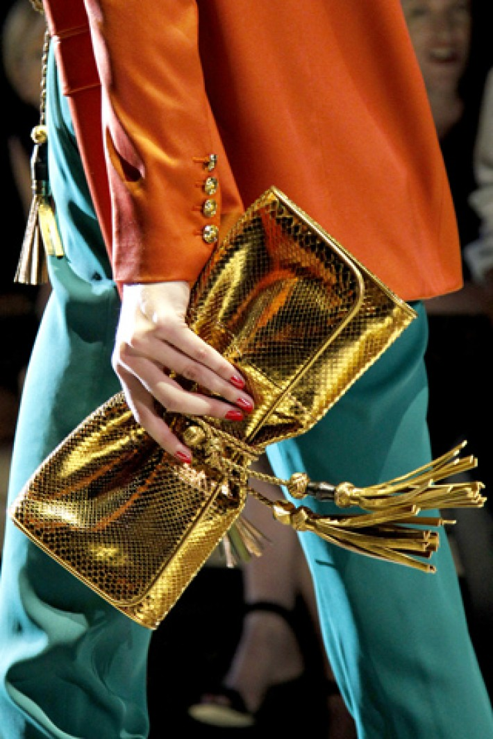 Gucci Spring 201, Ready to Wear.Runway & Details. Tribute to colorblocking.