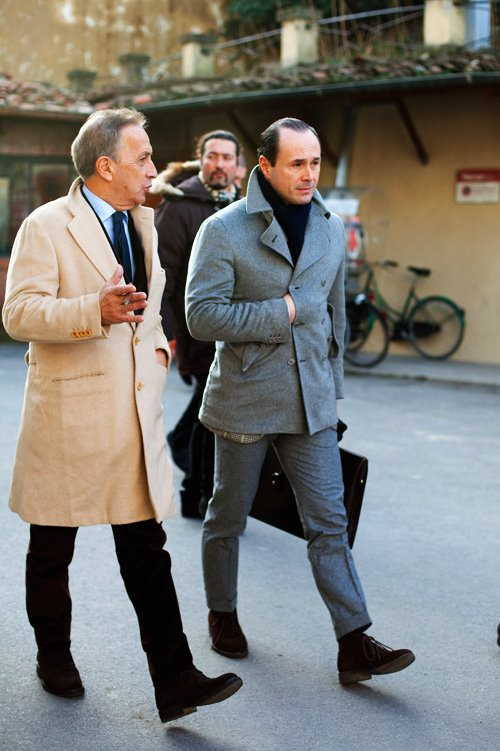 This is a man's world. Stylish men on the streets | Portraits of Elegance