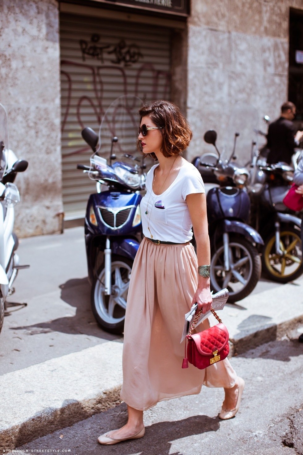 Style Inspiration. Long Skirts.