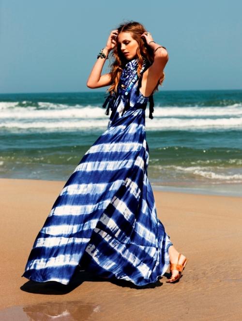 Stylish on the Beach.