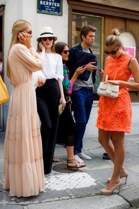 Paris Street Style, Rue Berryer.