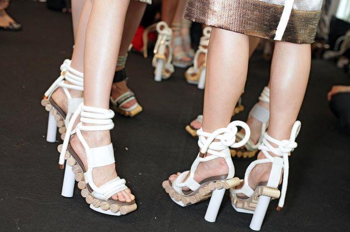 Pedro Lourenço shoes, Paris Fashion Week 2012