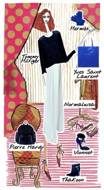 Illustrations,The Vogue Dolls!
