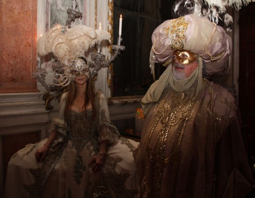 The Venetian Carnival of Il Ballo Del Doge. By Enrico Costantini