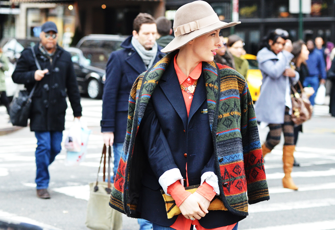 NY Fashion Week Street Style. Hats matter | Portraits of Elegaqnce