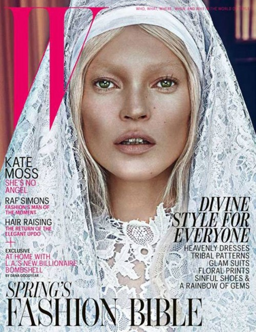 Good Kate, Bad Kate. On W Magazine