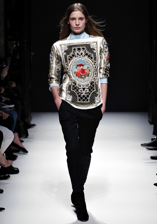 Olivier Rousteing for Balmain Fall 2012
