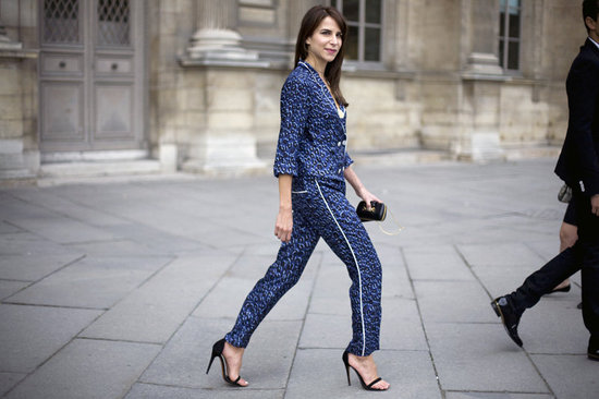 Chic Pajamas! From the Bed, to the Streets!