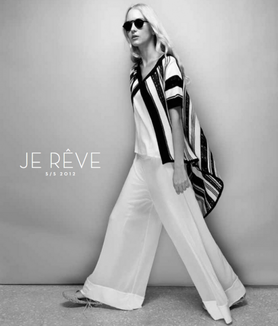 """Je rêve"".. Ioanna's Kourbela Spring/ Summer  2012 Collection."