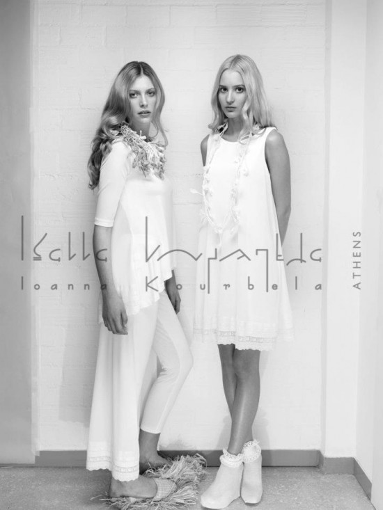 """Je rêve"". Ioanna's Kourbela Spring/ Summer  2012 Collection 