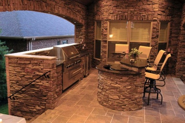 Interior Design. Houses Made of Stone!