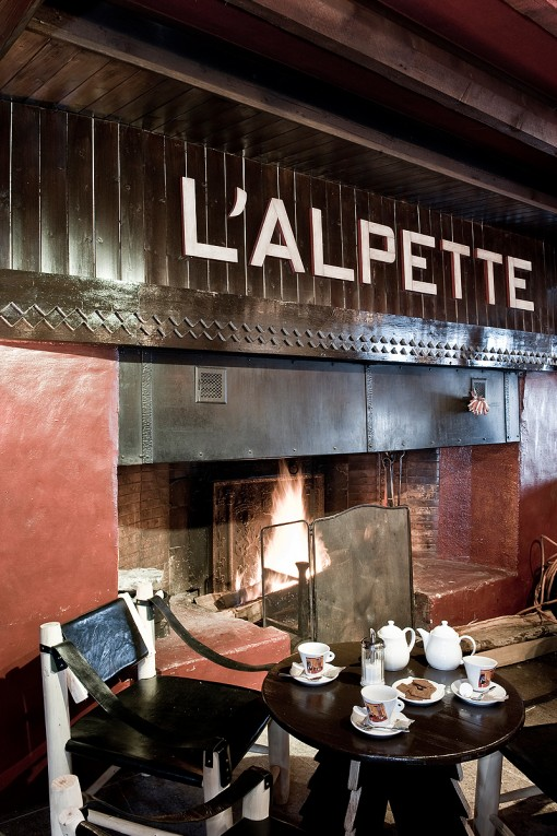 L' Alpette. Restaurant & Fromagerie in Megeve!