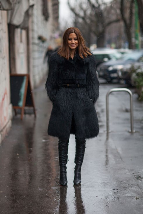 Streetstyle On a Rainy Day !