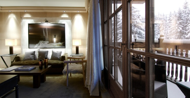 hotel cheval blanc courchevel 1850 by lvmh hospitality. Black Bedroom Furniture Sets. Home Design Ideas