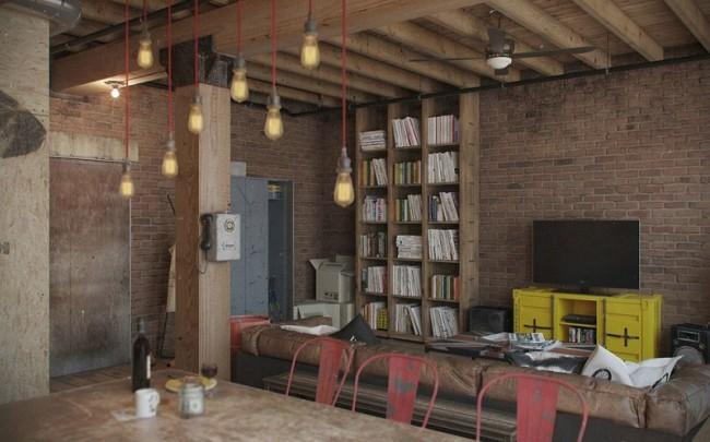 A virtual loft designed by Russian studio Nordes   Portraits of Elegance
