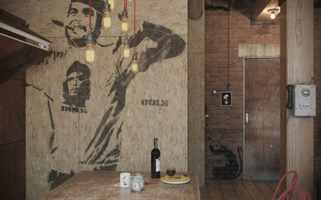Den Loft. A virtual loft designed by Russian studio Nordes   Portraits of Elegance