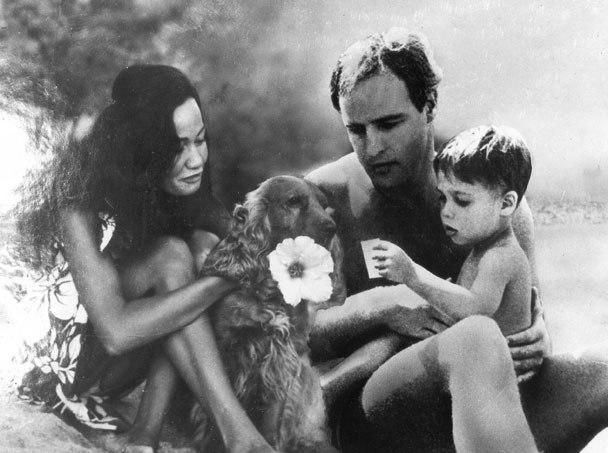 marlon brando with his third wife tarita